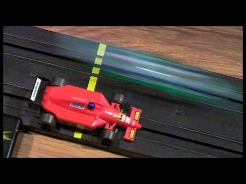 Micro Scalextric Slow Mo Crashes