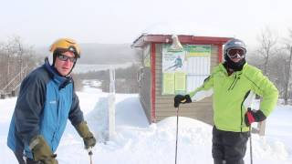 Dec. 13th Wachusett Mountain Daily Video Snow Report