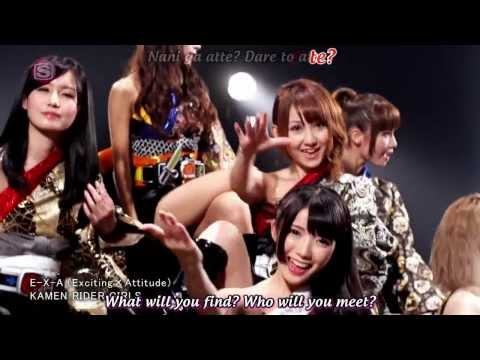 Kamen Rider Girls E-X-A (Exciting x Attitude) Official Music Video