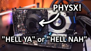 PhysX Cards - 10 years later do they still suck?? by : LinusTechTips