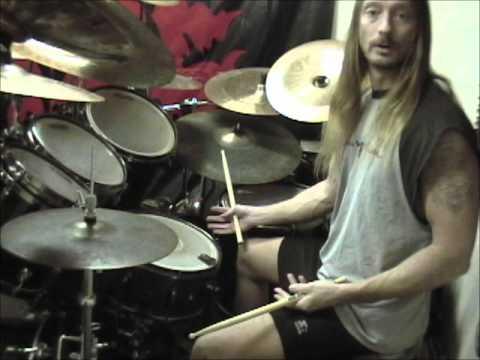 Steve Asheim - Blast Beats & Double Bass Technique - YouTube