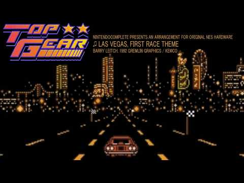 ♫LAS VEGAS, Top Gear (First Race BGM) NES 8-bit Arrangement - NintendoComplete