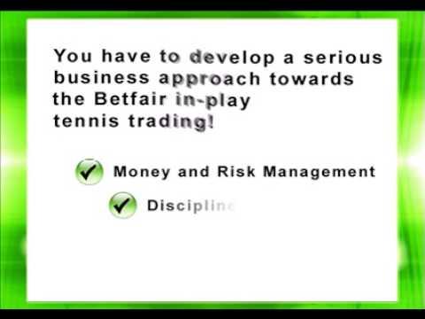 Successful Betfair Tennis Trading - Business Approach