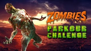 Zombie Parkour Challenge 💀 Call of Duty Black Ops 3 Custom Zombies