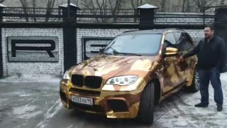 Давидыч забирает BMW X5M в новом облике.