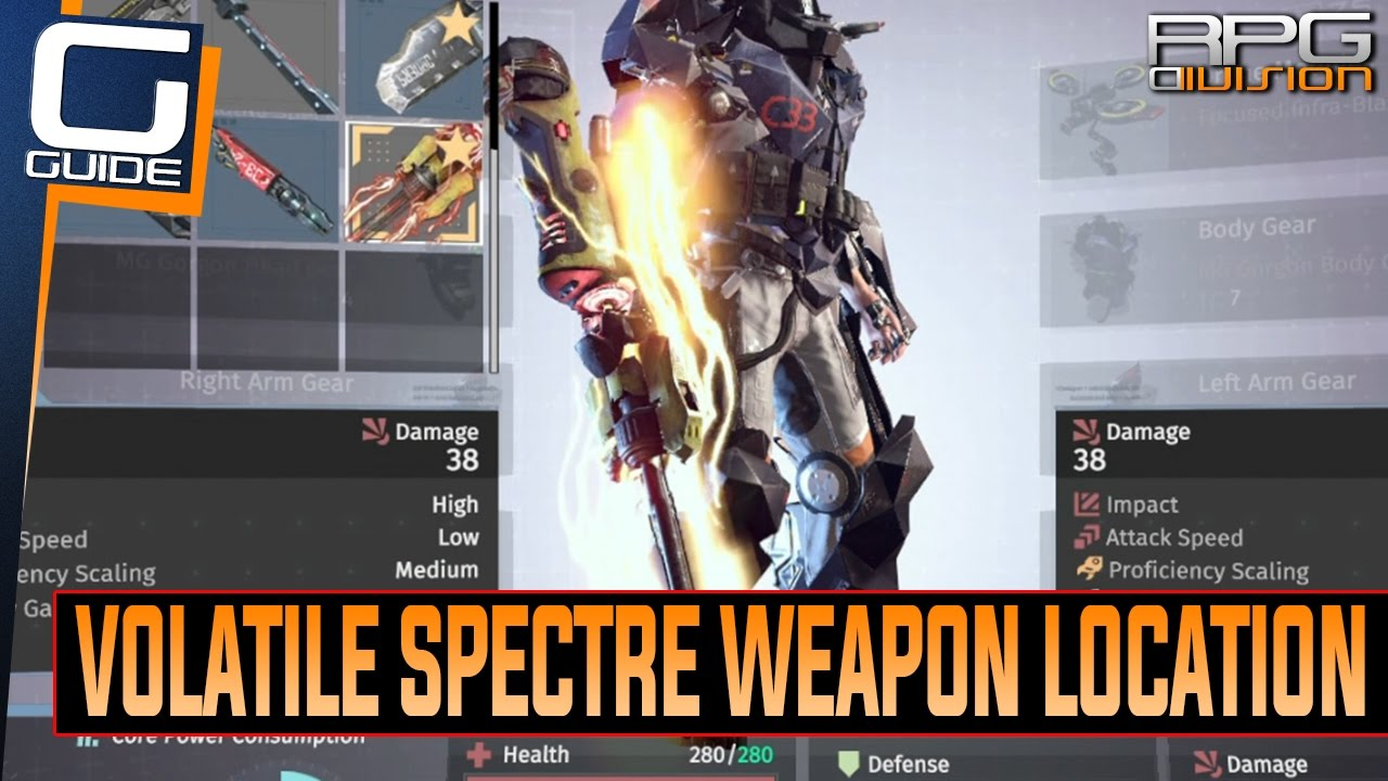 The Surge Volatile Spectre Weapon Location Youtube