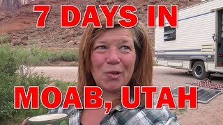 Moab Utah:  Great RV Camping and Gorgeous Views