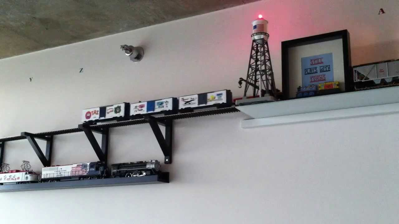 O Scale Train Ceiling And Wall Layout Mth And Lionel