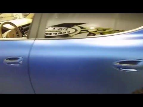 Porsche Panamera Wrap