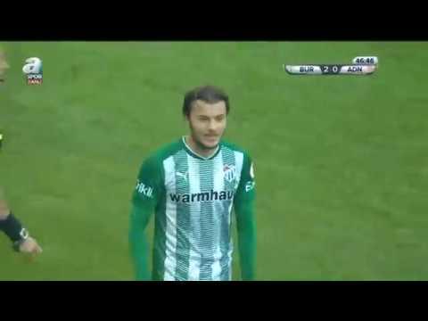 Bursaspor 2-0 Adanaspor Dk: 45+1 (k.k.) Yakup Demir