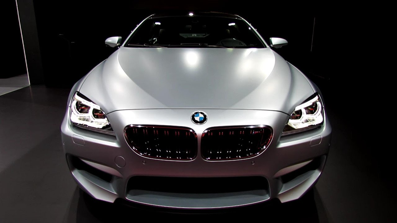 2014 BMW M6 Gran Coupe   Exterior And Interior Walkaround   2013 Detroit  Auto Show   YouTube