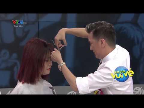 BỮA TRƯA VUI VẺ CÙNG ĐÀM VĨNH HƯNG  cắt tóc mp4