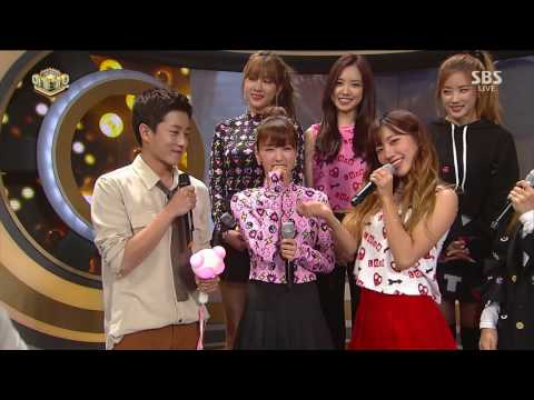 [161002] APINK - INTERVIEW @ SBS Inkigayo Comeback Stage [1080P]