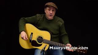 The Martin HD-28 (2018) at Maury's Music Resimi