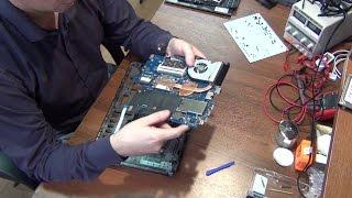 Ремонт ноутбука HP Probook 4530S. Чистка системи охолодження, заміна термопасти