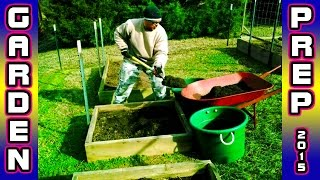 Garden Prep & Supplies - Build Raised Bed Trellis Organic Square Foot Gardening
