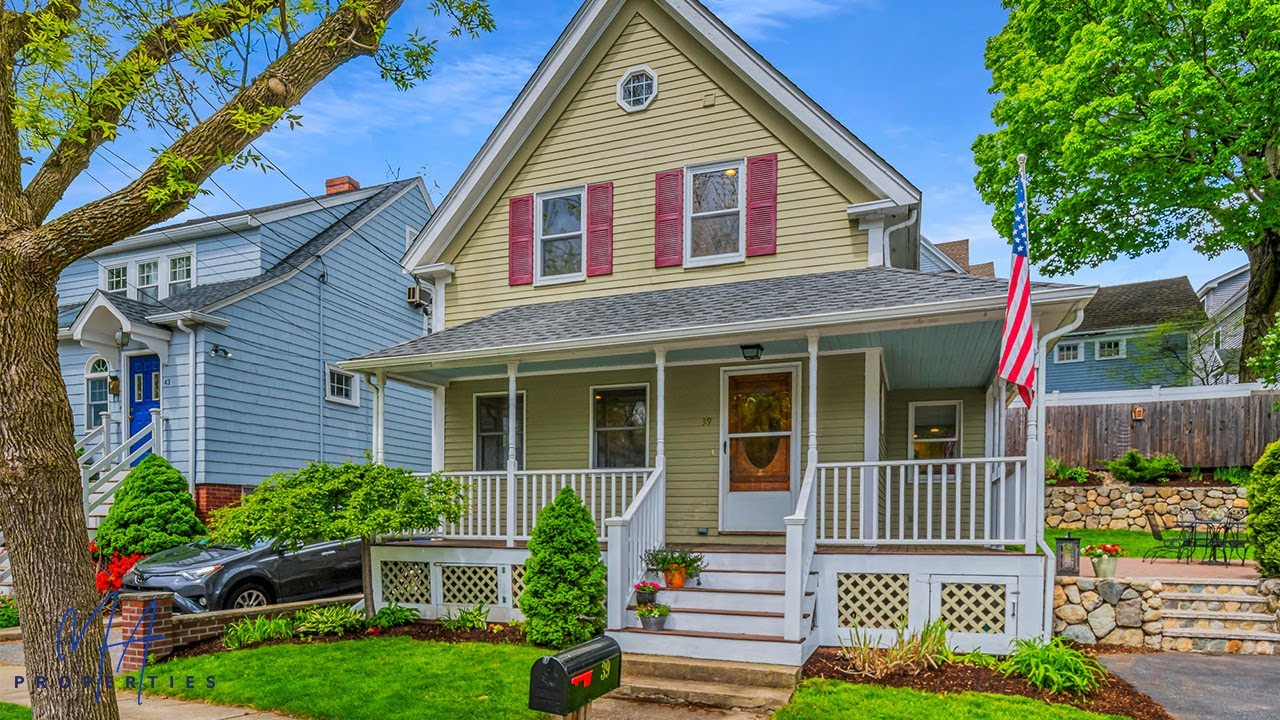 Home for Sale - 39 Agassiz Ave, Belmont