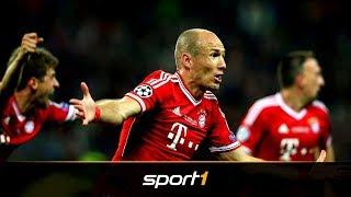Arjen Robben wird 35 - Rückblick auf seine turbulente Bayern-Zeit | SPORT1