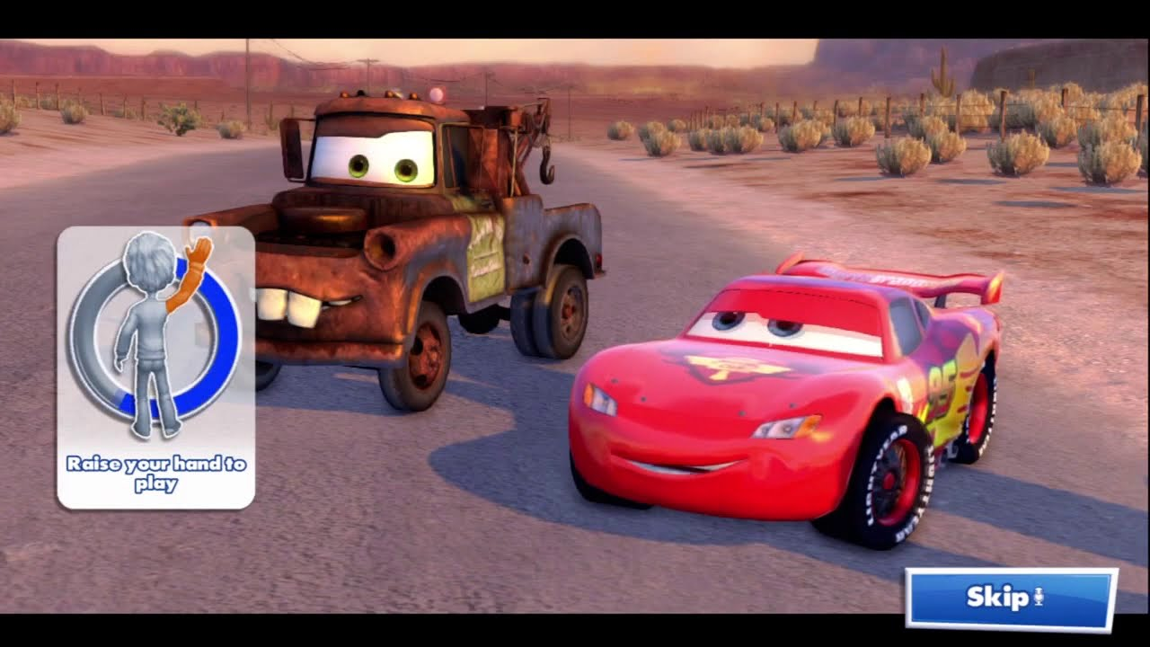 Kinect Rush A Disney Pixar Adventure Part 1 Cars