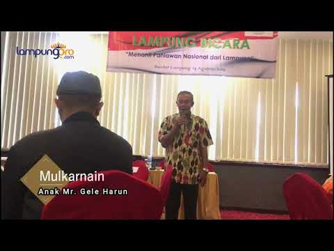 Lampung Bicara : Menanti Pahlawan Nasional dari Lampung