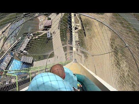 Verrückt Water Slide at Schlitterbahn Kansas City