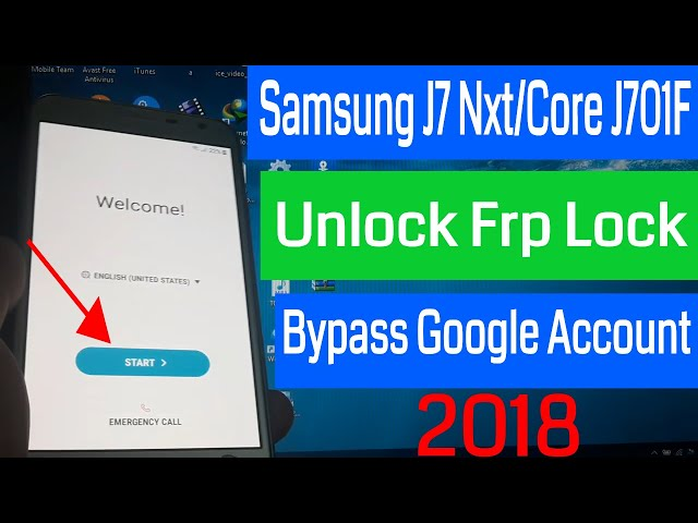 Samsung J6 2018 Frp Unlock/Bypass Google Account Lock | A&D