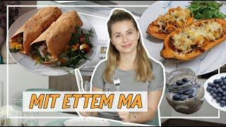 Mit ettem ma 🍽︎ - Gyors és finom ételek 😋 | Viszkok Fruzsi