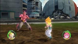 Dragonball Z Raging Blast 2 - Gotenks VS Super Buu