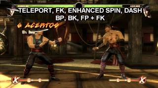 Mortal Kombat Komplete Edition: BASIC COMBOS: Kung Lao (PC)