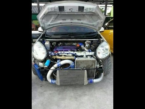 Nissan March K13 SR16VE+T by Ake Engine (Made in Thailand)