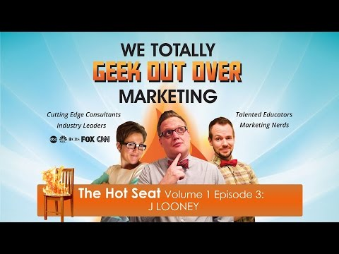 The Hot Seat Volume 1 Episode 3 - J Looney Personal Chef | Marketing Show | Marketing Consultant