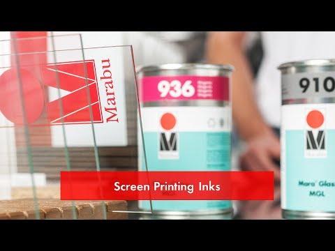 Screen Printing Inks / Siebdruckfarben