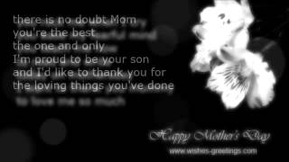 Happy mothers day poems short wishes and greetings