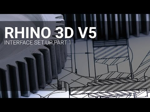 Rhino 3D Interface Set Up Part 1