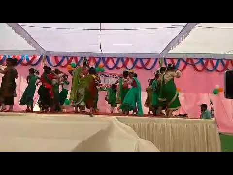Dance.....by class 1,2 and 3 students