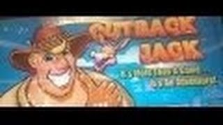 Outback Jack Slot Machine Bonus-Live Play-Aristrocrat
