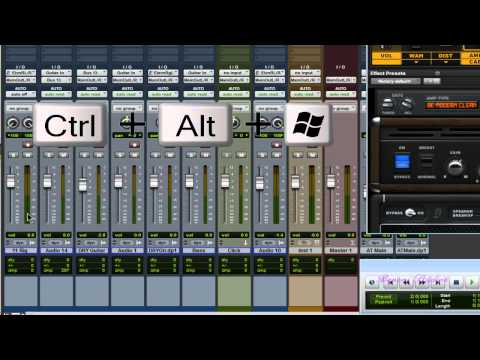 Enable WIDE Meters - Pro Tools Quick Tip