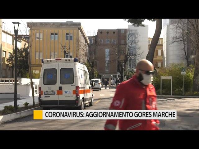 Coronavirus: aggiornamento Gores Marche