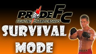 Pride FC Fighting Championships Gameplay (Road To UFC 3)