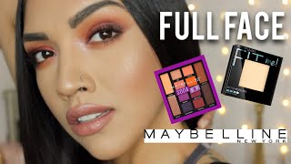 FLAWLESS Full Face Maybelline Tutorial! //2018