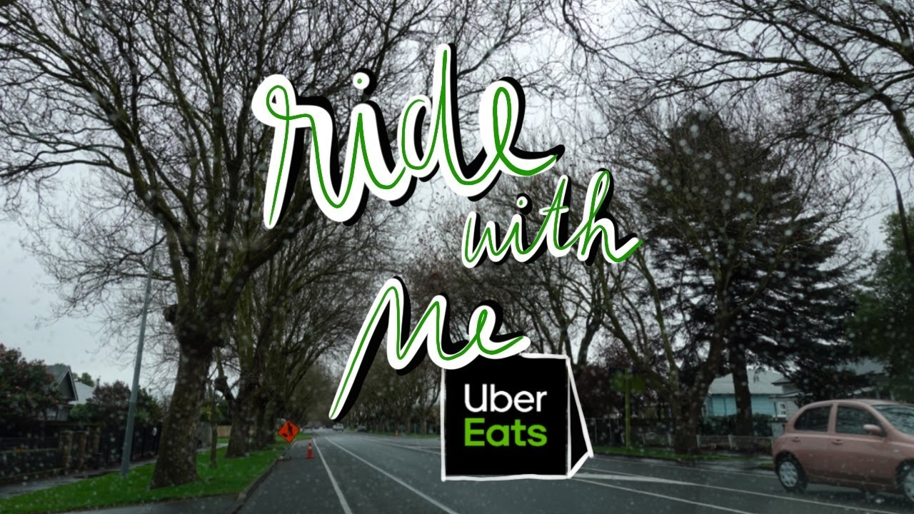 Deliver with Uber Eats in Christchurch, NZ