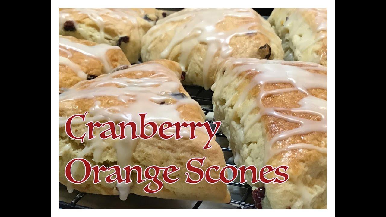 Episode 79 - CRANBERRY ORANGE SCONES