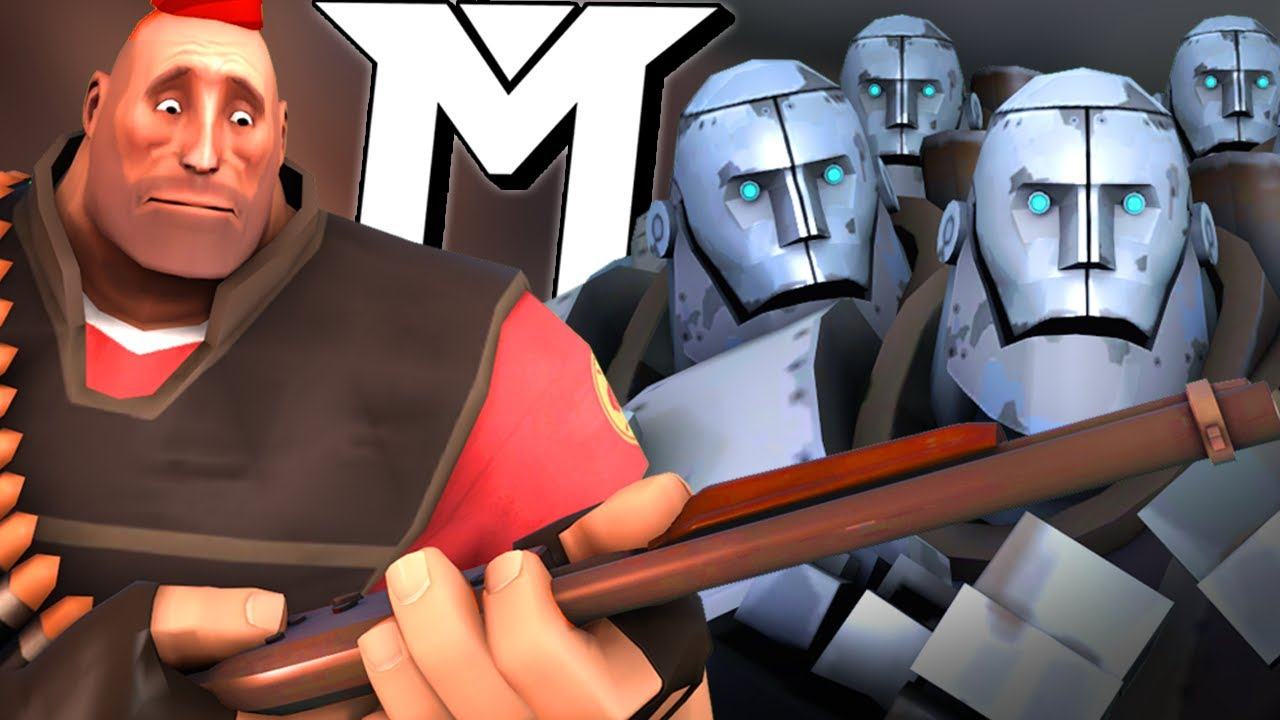 [TF2] The Mercs Play The Wackiest Game Of Mann Vs Machine