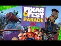 Disney Pixar Play Parade Disneyland New Pixar Fest 2018 - FULL DISNEY PARADE IN 4K!