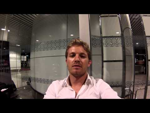 Nico Rosberg: video blog Malaysia 2015 P3