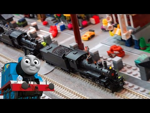 Toy Trains Video for Children Great Train Expo feat Thomas and Friends Model Trains