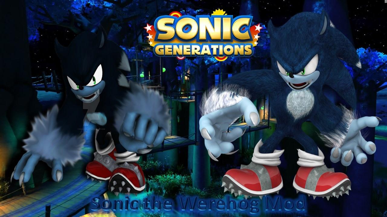 Sonic generations werehog mod