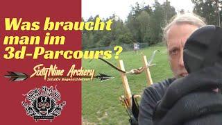 Was braucht man für den 3d Parcors   Bogensport   SixtyNine Archery
