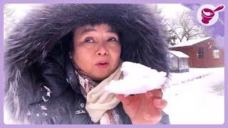 หิมะตกแล้วครั้งแรกในรอบ 2 ปี ที่เดนมาร์ก  l ยายนาง
