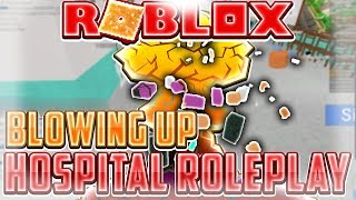 USING FE BOMB VEST ON HOSPITAL ROLEPLAY | ROBLOX EXPLOITING VIDEO #23